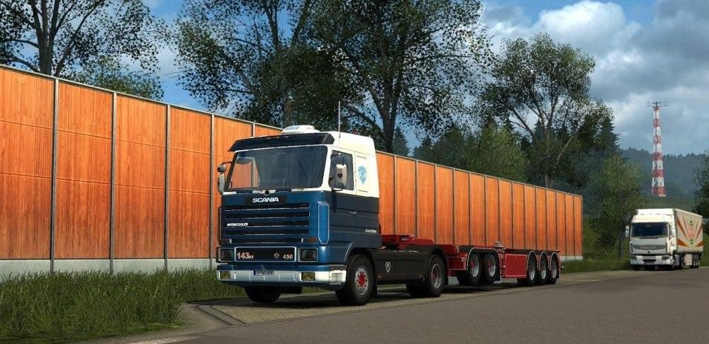 Scania 3 series V8 sound mod