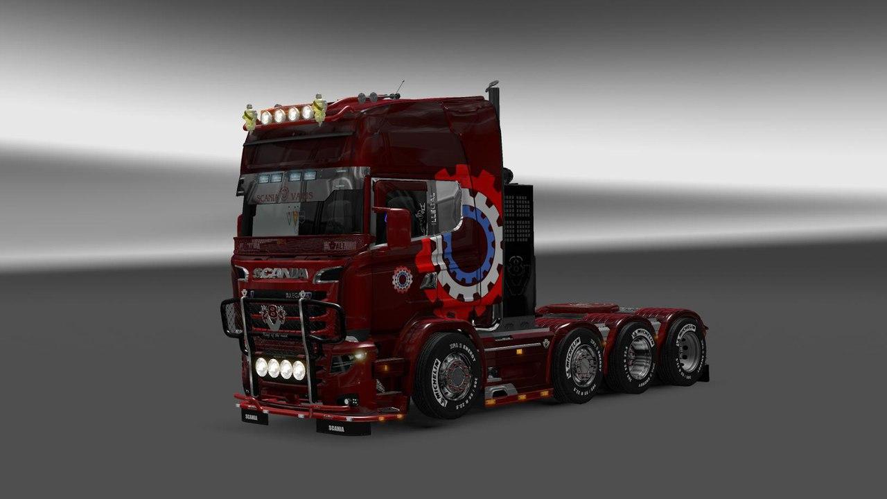 Грузовик Scania R и S серии v9.0