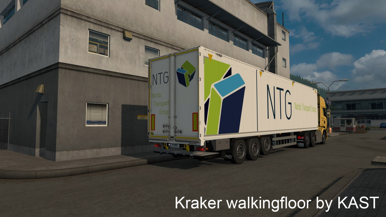 Прицеп Kraker Walkingfloor v0.2