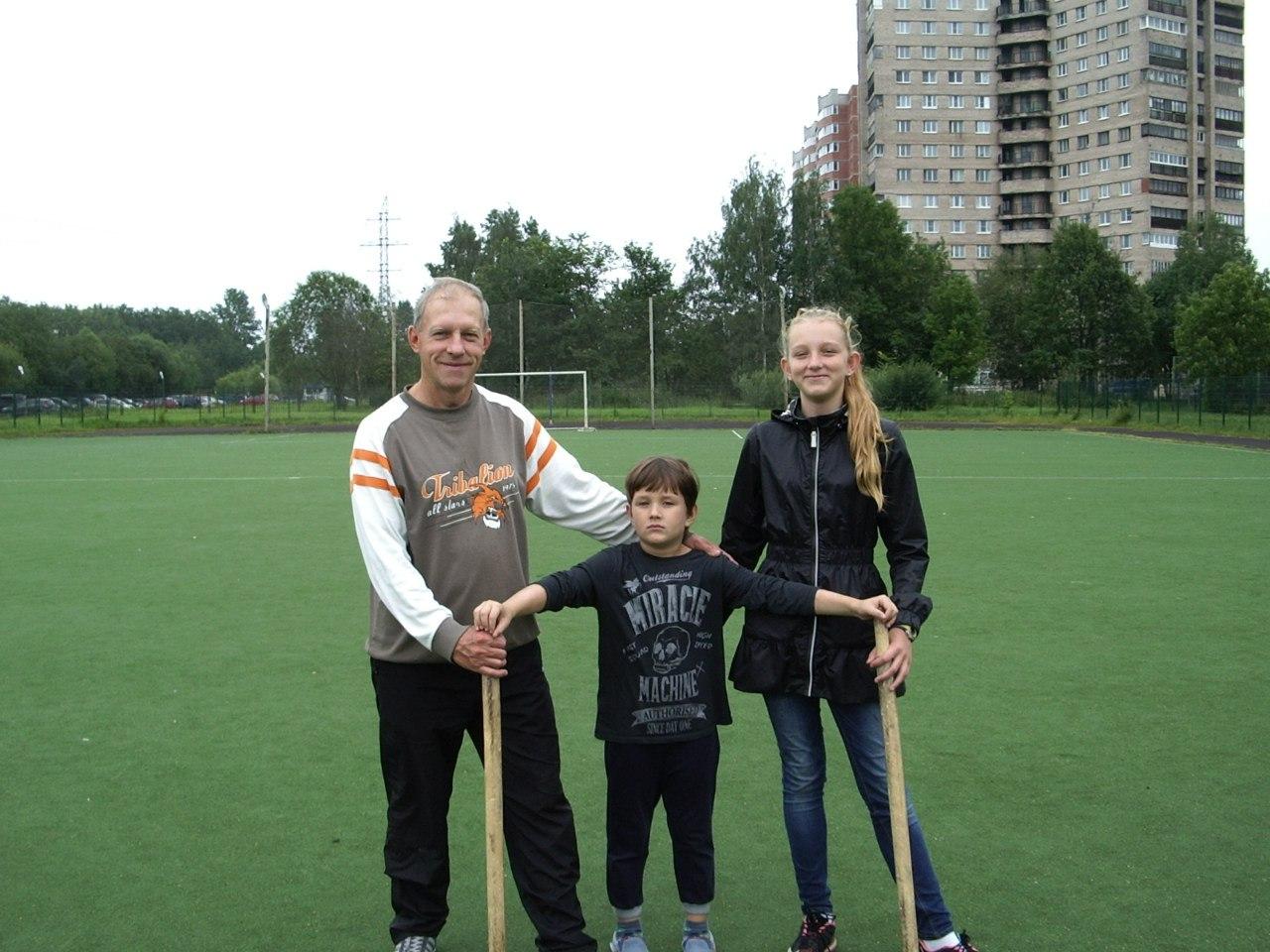 Игры в «Городки». Летний городской спортивный лагерь