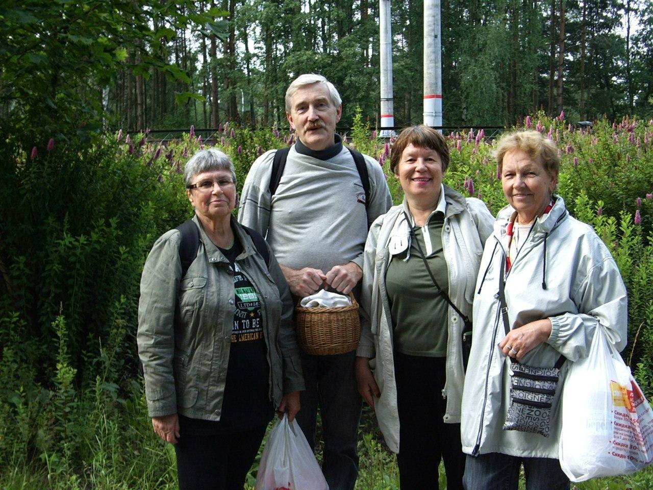 Скандинавская ходьба. Группа «Возрождение». Поездка в г. Зеленогорск
