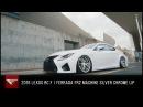 2016 Lexus RC F | Ferrada FR2 in Machine Silver with Chrome Lip