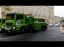 Парад коммунальной техники на дне города Москвы