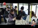 Aftobusda osturan xala gülməli