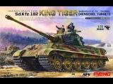 MENG King Tiger TS-031 Build Review 001