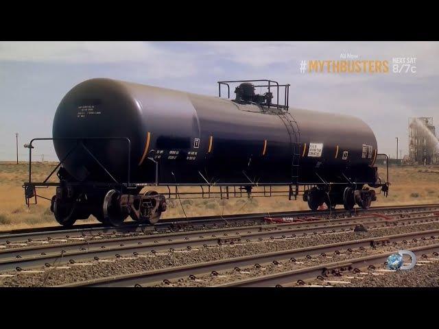 Разрушители легенд / Финальный Сезон 16, MythBusters Tanker Crush