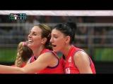 Serbia vs Italy - Women's Volleyball - RIO 2016 Olympics  Pool B