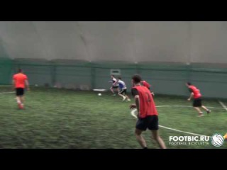FOOTBIC.RU. Видеообзор 27.01.2017 (Метро Марьина Роща). Любительский футбол