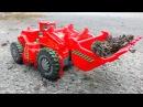 Мультфильмы про Машинки Трактор Павлик Красный Бульдозер Развивающие мультики ...