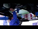 Cadillac Escalade 2015 - установка защиты картера двигателя и коробки АКПП