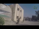 Front opening Sham | Distinctive scenes from the storming of the Mujahideen School of Artillery - the Battle of Ibrahim Youssef