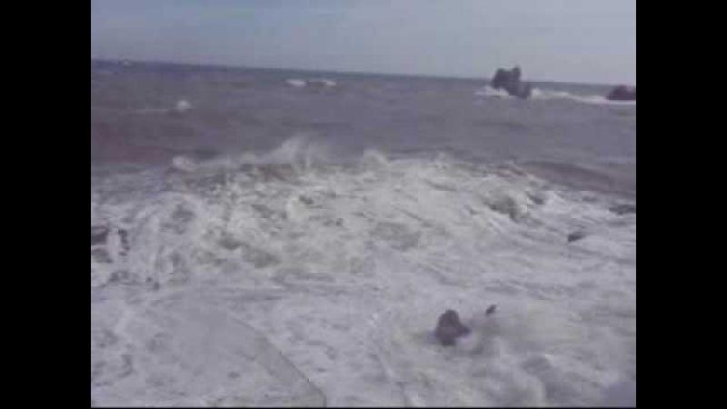 Экстремальный отдых в Крыму шторм цунами