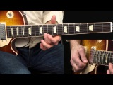 Slow Blues in A Warren Haynes Lesson WITH TAB