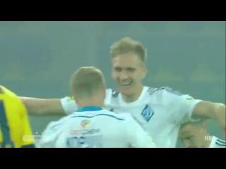 Классный голевой пас Никиты Корзуна. Металлист 1-4 Динамо Киев (14 мая 201)