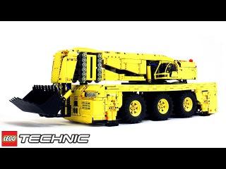 Lego Technic Pneumatic Rock Loader / Лего Техник Карьерный Погрузчик