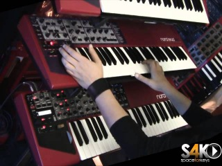 Nord Wave Vs Nord Lead 2x demo part 1 By S4K Team Dladio ( Space4Keys Keyboard Solo )