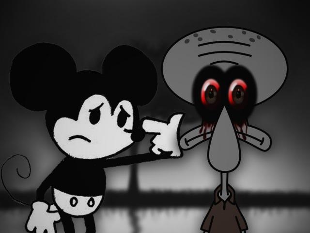 Squidward's Suicide vs Suicide Mouse JMB Rap Battles Season 2