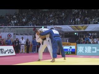 Osoto gari - Kuczera (POL) v Kugimaru (JPN) -90kg