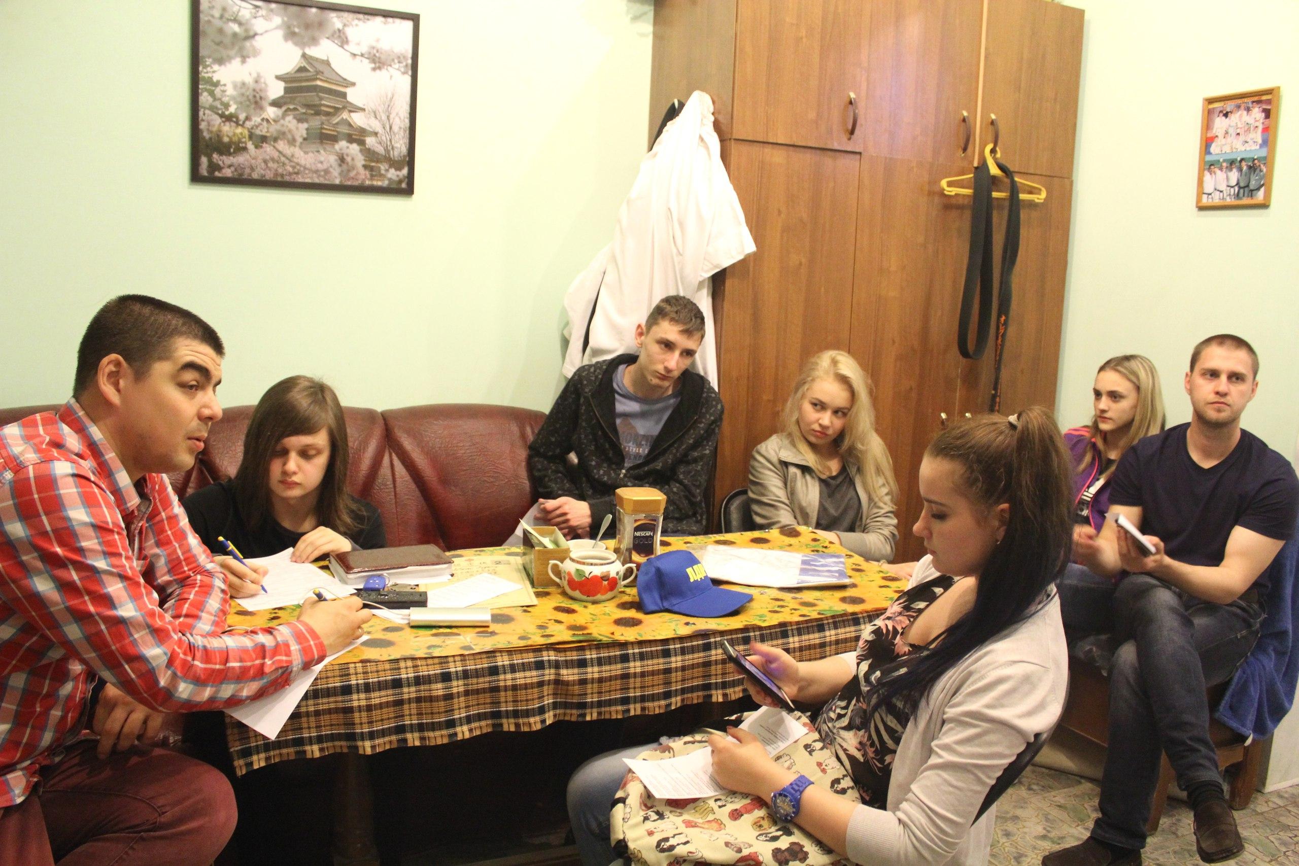Сбор активистов молодежной организации ЛДПР