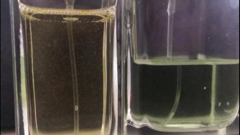 Личный эксперимент как проверить качество и подлинность парфюма .пузырьки после взбалтывания это показатель качества парфюмерной