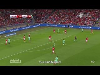 Швейцария 2:0 Португалия | Чемпионат Мира 2018 | Отборочный турнир | Обзор матча