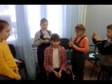 Баттл у джуниоров_подготовка модели Дианы к выходу на подиум