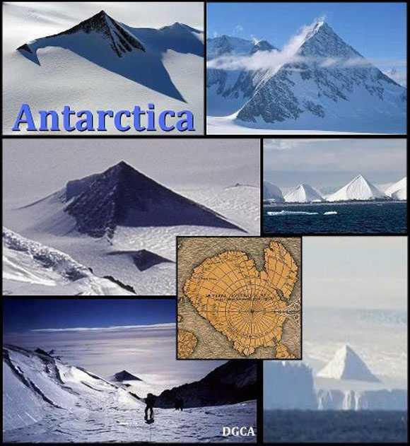 Просочившиеся военные кадры Антарктических пирамид W4J6OxZCsjg