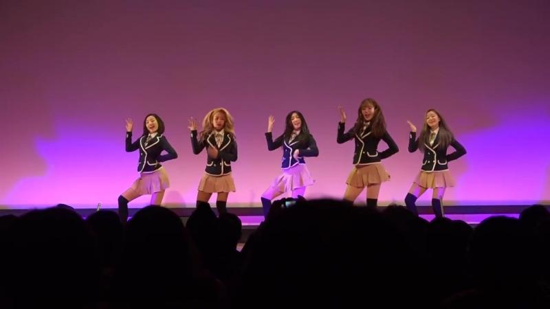 Real Girls Project(리얼걸 프로젝트)「TWICE(트와이스) - CHEER UP」 第2回 韓日文化交流キャラバン ~平昌・長野の冬~ 2.17