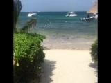 Beach At Puerto Morelos, Mexico