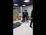 Тренировка команды каскадёров #StuntPlus в школе #KudoKids