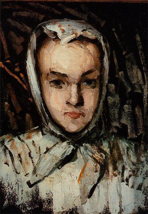 Поль Сезанн фр. Paul Cézanne;  1839 — 1906 Сестра художника 1866-1867 Marie Cezanne, the Artist's Sister