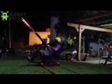 «Космические захватчики» при помощи дронов