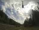 Эвакуация вертолетом, г. Гумпкопай, окрестности перевала Дятлова, ПСР.