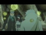 Наруто, Сакура, Шикамару и Сай против куклы Тонери и Стража пещеры