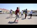 Казахская версия клипа Uptown Funk снятая одним дублем