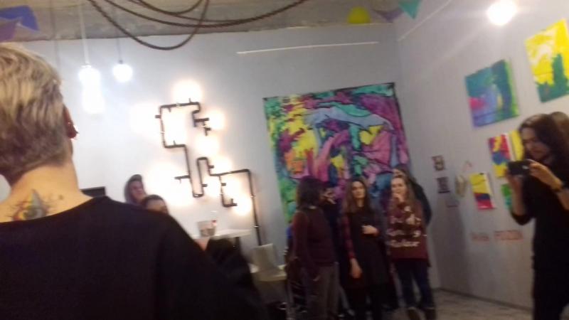 выставка Rem Koral × Sasha Poizon 👽