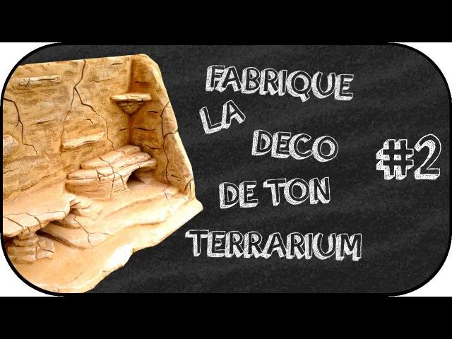 Tuto - Fabrication d'un décors / fond de terrarium 2