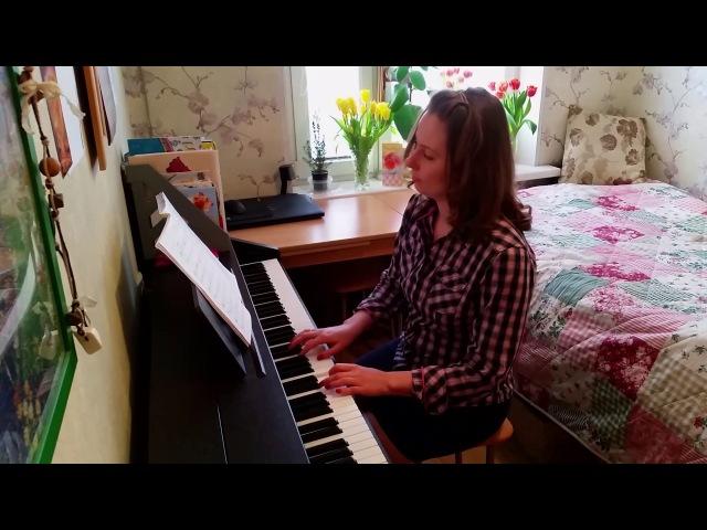 Голубой вагон на фортепиано (cover piano GOLUBOI VAGON)