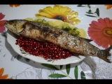 Готовим Лявянги ( Ləvəngi )  из рыбы. Рецепт от MFC.
