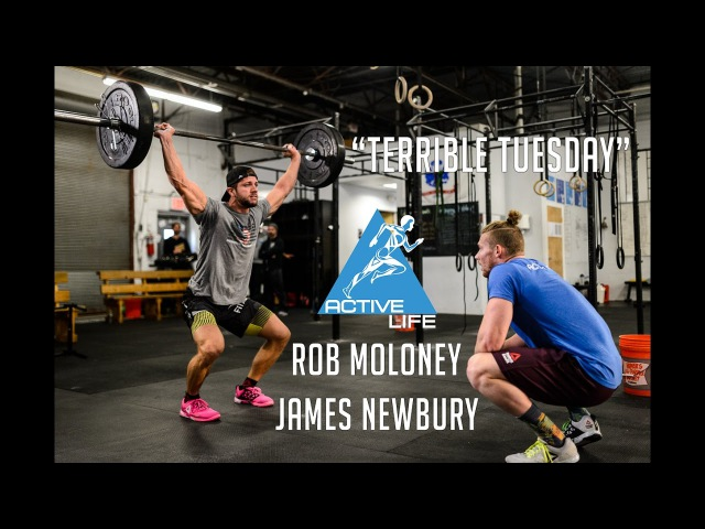 James Newbury and Rob Moloney do