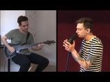 Nik Nocturnal &amp Andy Cizek - Heavy (Linkin Park DjentMetal Cover)