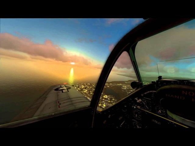 Digital Combat Simulator p51D Coop flyght (Кооперативные полетушки :) )