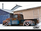 Stoner's Speed Shop Bagged Chevy time lapse build air ride dubstep music  roadkill patina go pro