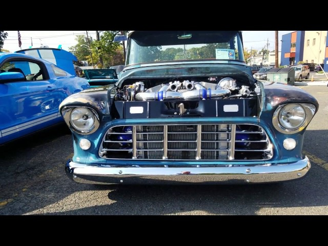 1955 CUSTOM CHEVY 3100 PICK-UP TRUCK LS2 TWIN TURBO 1200 HP