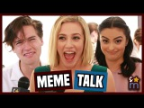 RIVERDALE Cast React to Becoming Memes, Reveal Season 2 Wishes & More | Shine On Media