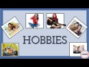Hobbies and interests: English Language