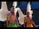 США ГЕИ И ЛЕСБИЯНКИ ПАРАД - ЗРЕЛИЩЕ - GAY PRIDE PARADE Orlando Florida USA 12.11.2016