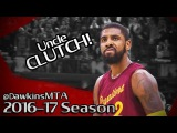 Kyrie Irving AMAZING 25 Pts, 10 Assists, 7 Stls 2016.12.25 vs Warriors - UNREAL in CLUTCH!