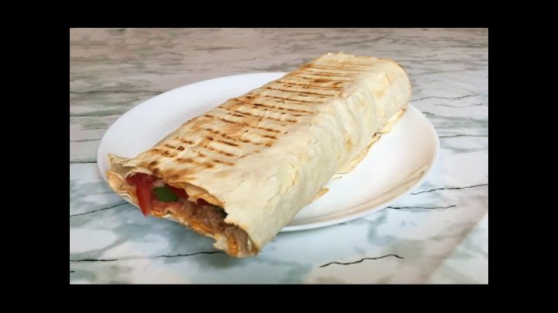 Домашняя Шаурма (Очень Вкусная и Сочная) / Супер Рецепт (Быстро и Просто) / Shawarma