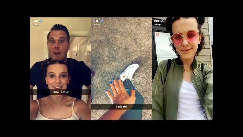 Millie Bobby Brown ► Snapchat Story ◄ 20 May 2017